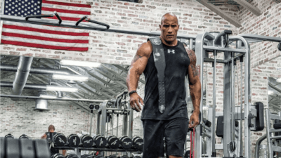 Dwayne 'The Rock' Johnson's Insane Home Gym and Traveling Iron Paradise Cover Image
