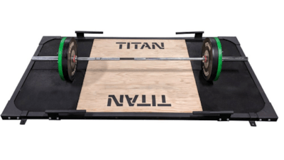 Titan Fitness Deadlift Platform Released Cover Image