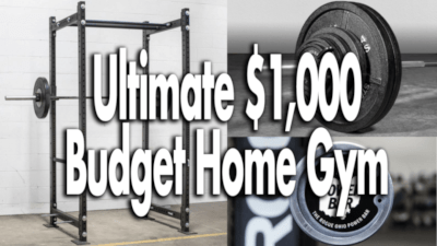 building a budget home gym on amazon  garage gym reviews