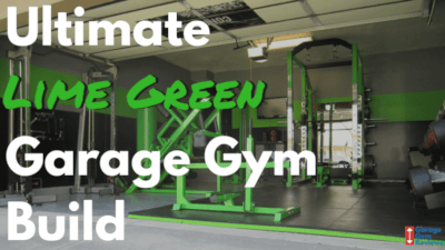 The Ultimate Lime Green Garage Gym Build Cover Image