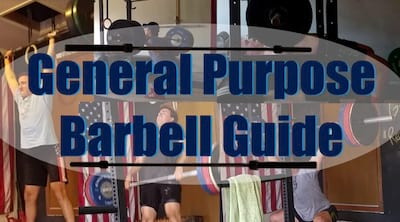 General Purpose Barbell Guide Cover Image