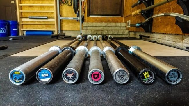 The Best Olympic Barbells for 2021 Image