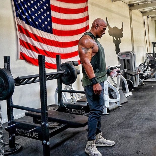 Dwayne The Rock Johnson S Insane Home Gym And Traveling Iron Paradise Garage Gym Reviews