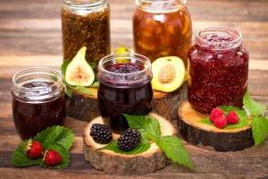 Reçel;  Pektin,Şeker ve Asitlerin Rolü