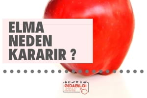 Elma Neden Kararır ?