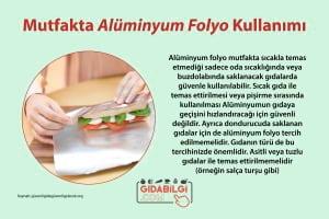 Mutfakta Alüminyum Folyo Kullanımı