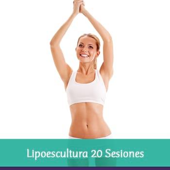 Lipoescultura 20 sesiones + 4 consultas nutricionales