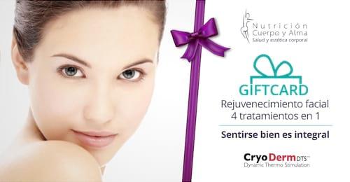 Rejuvenecimiento facial - 4 Tratamientos en 1 (CryoDerm)