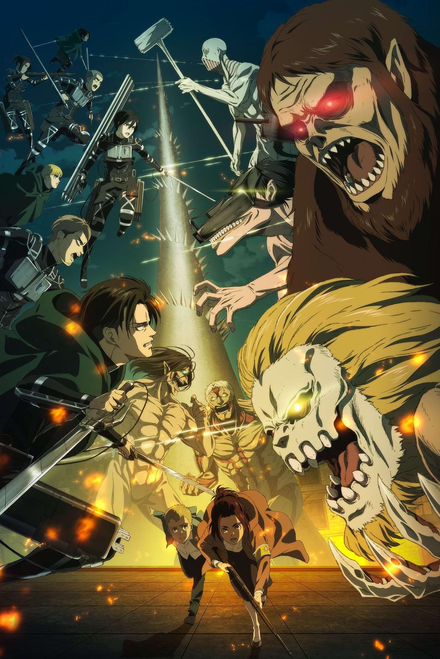 Shingeki no Kyojin: The Final Season Dublado