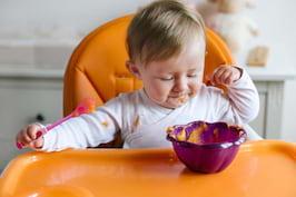 Retete cu cartofi dulci: piureuri si supe pentru bebelusi