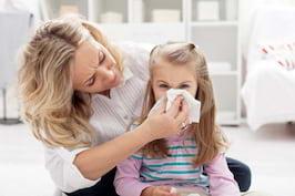 Secretiile nazale ale copilului - ce indica, in functie de cum arata