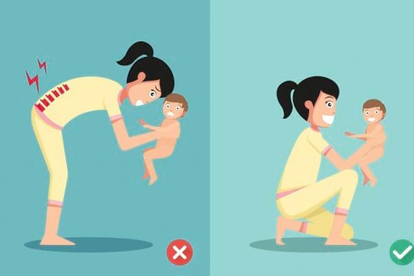 Durerea lombara la mamici - de ce apare si cum poate fi prevenita