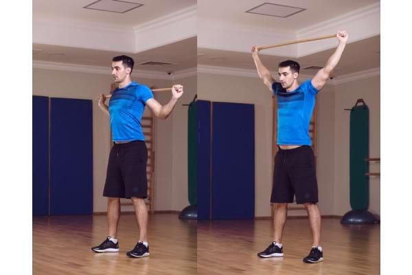 Dureri musculare in zona superioara a spatelui? Exercitiile care te ajuta