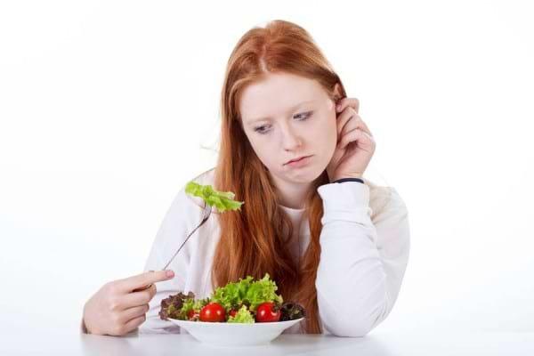 pierderea excesivă a greutății și pierderea apetitului