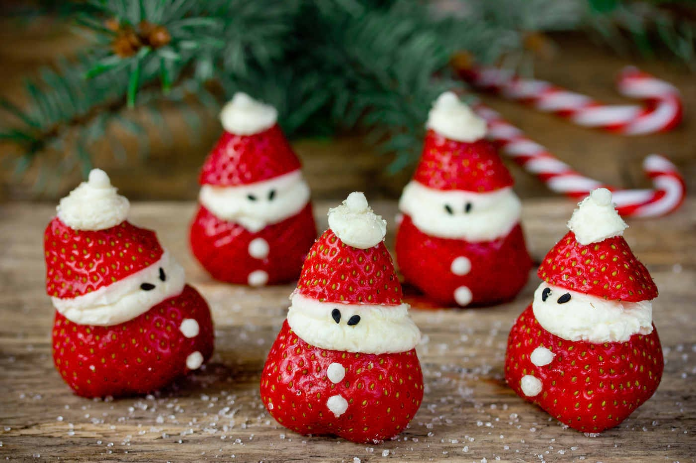 Gustări sănătoase pentru copii de Crăciun
