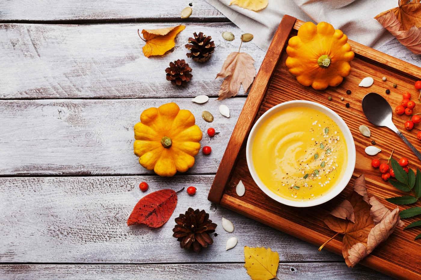 5 rețete de toamnă cu fructe și legume de sezon