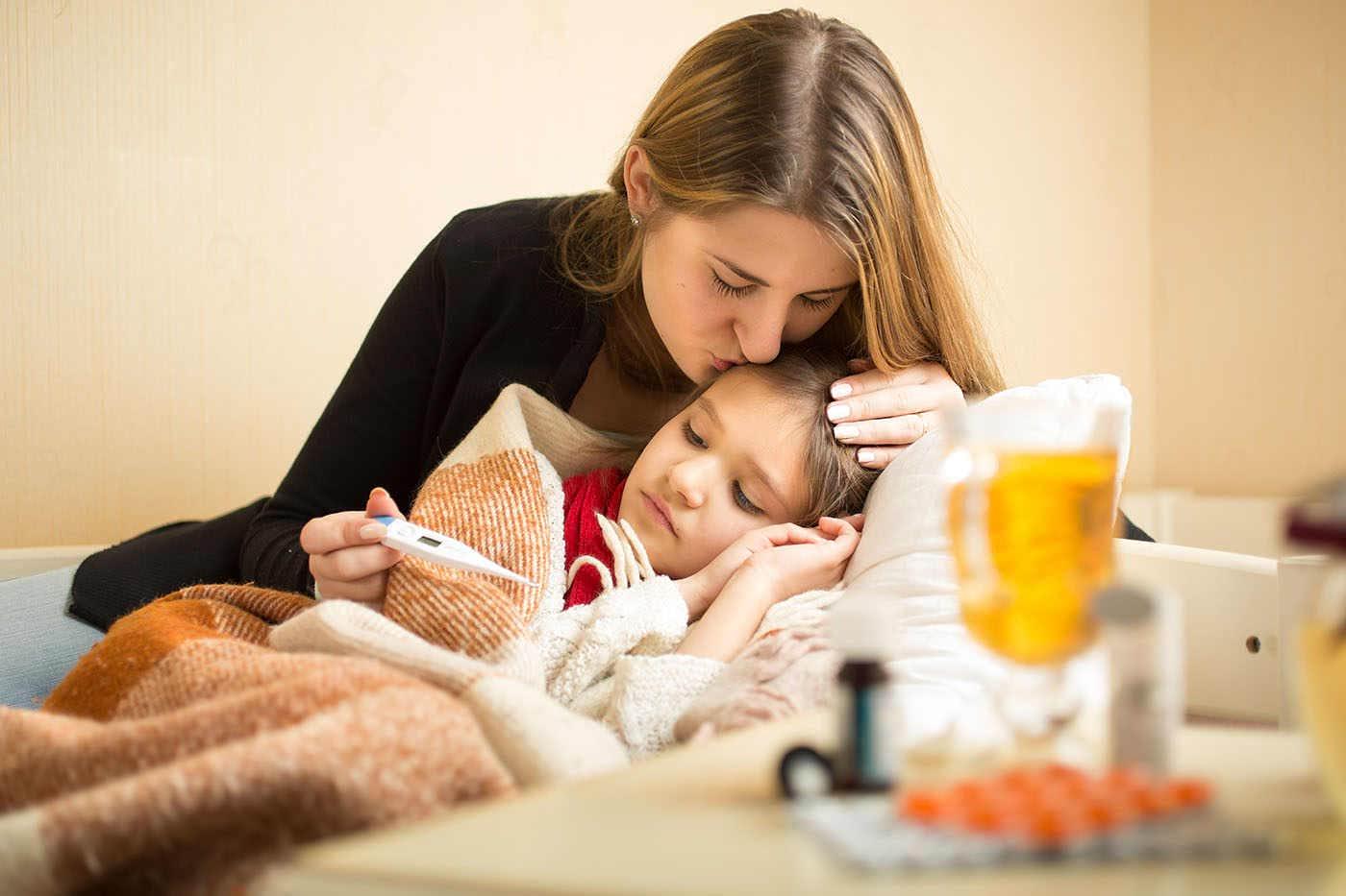 Gripa la vârste fragede influențează riscul viitor de boală [studiu]
