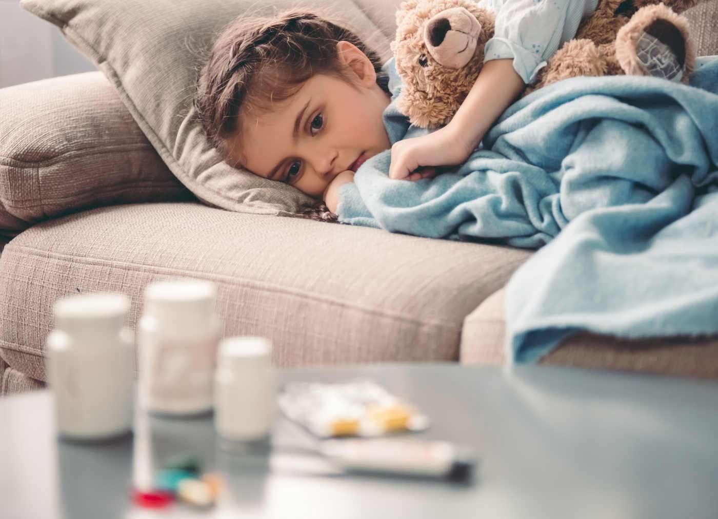 Dureri musculare la copil? Ar putea fi miozita, o complicație a gripei