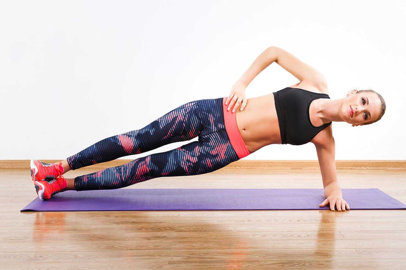 7 exerciții pentru un abdomen ferm