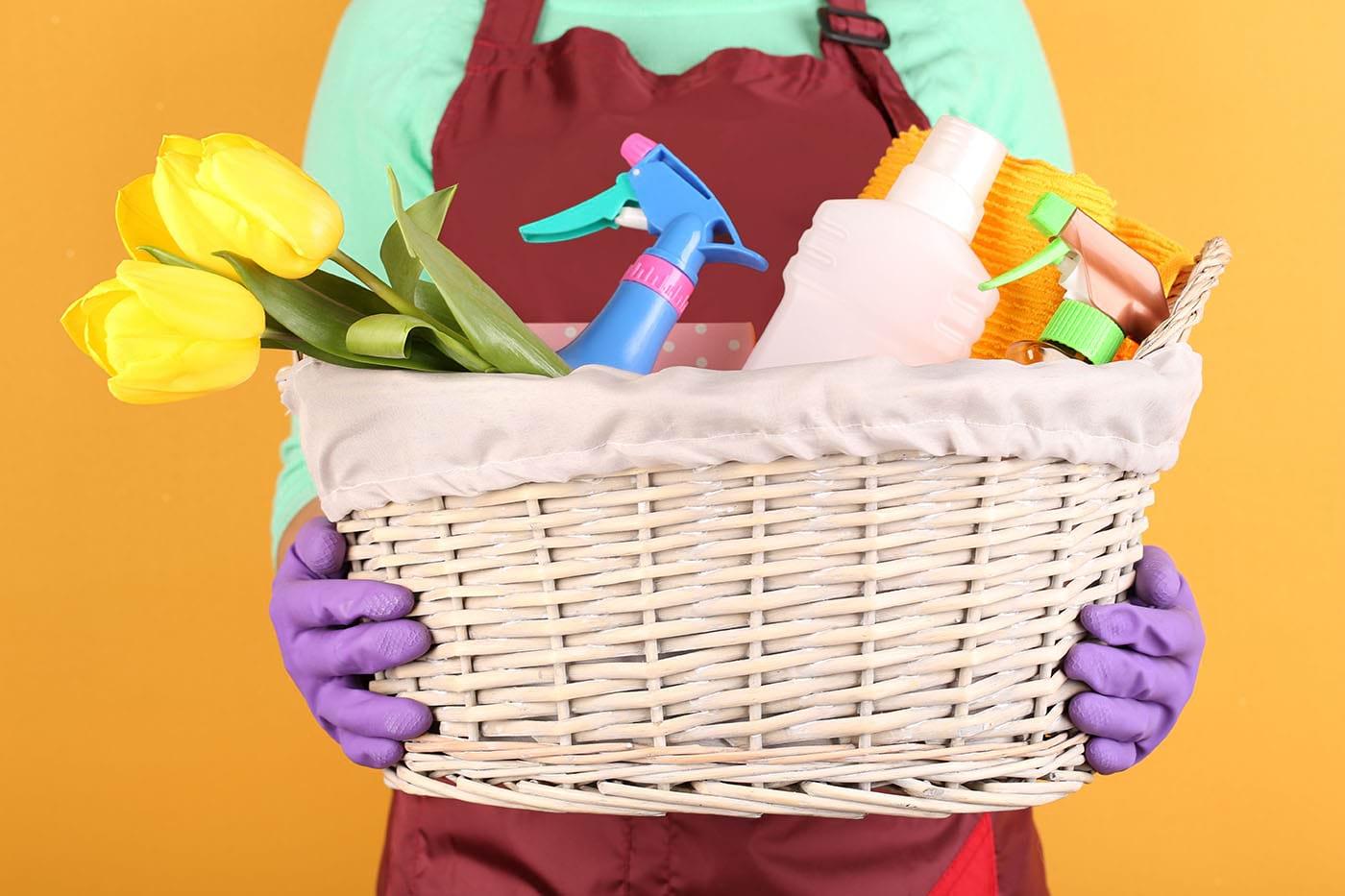 Curățenia de primăvară în doi timpi și trei mișcări