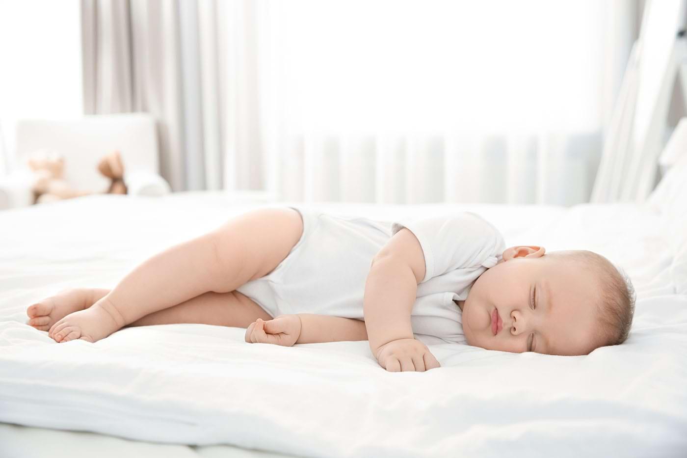 Tulburările de somn ale bebelușului, asociate cu probleme de sănătate mentală ulterioare? [studiu]