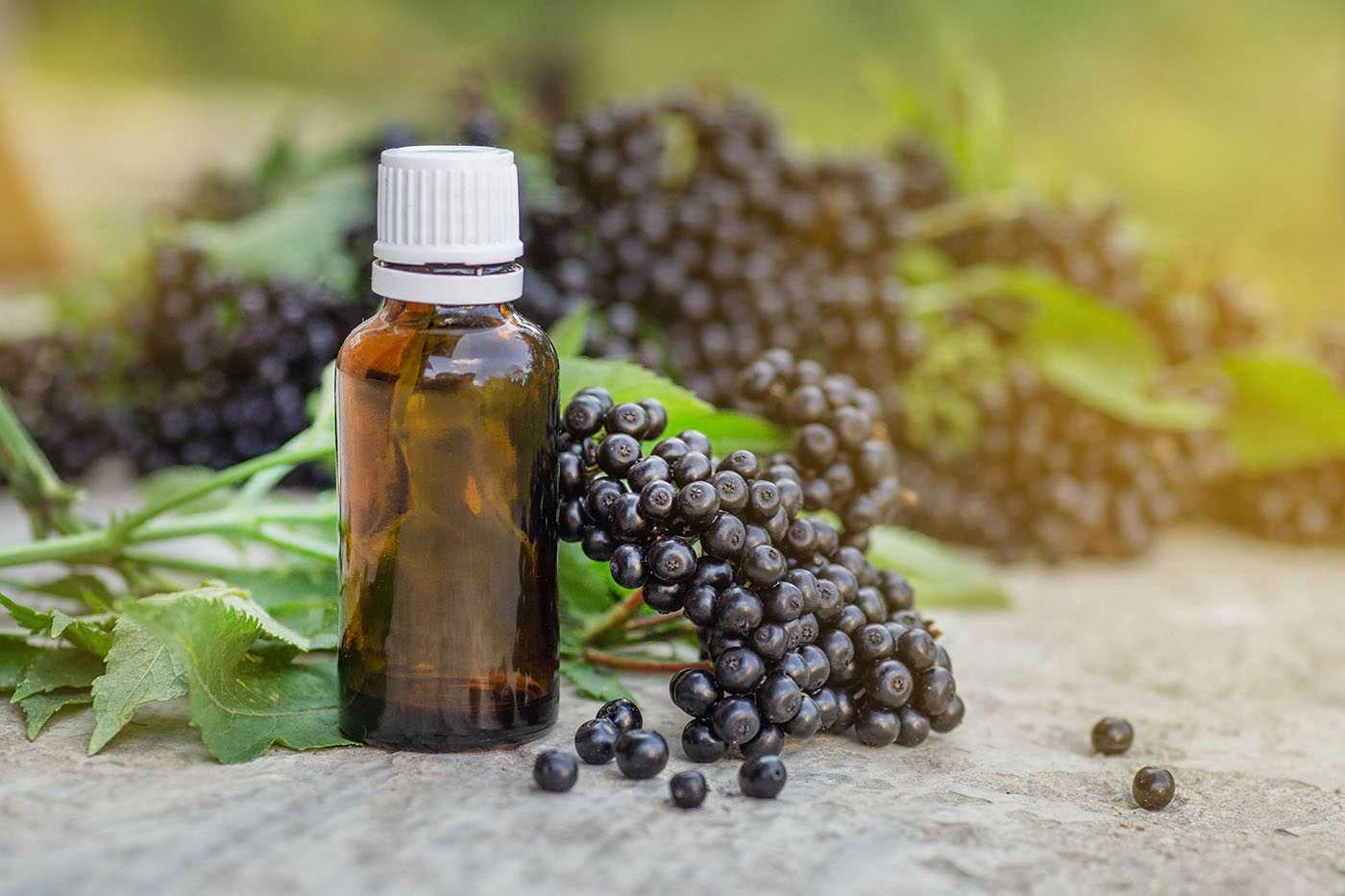 Extractul din fructe de soc poate combate simptomele răcelii