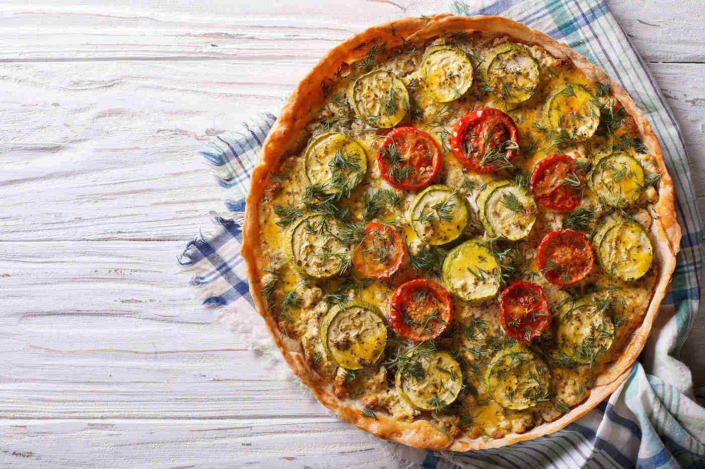 Quiche vegetarian: 3 rețete sănătoase de încercat