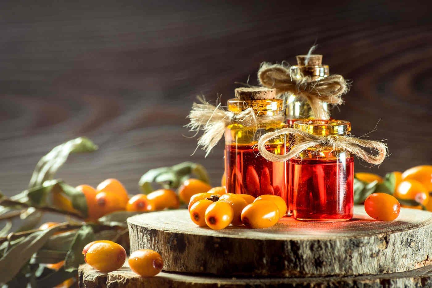 Uleiul de cătină stimulează regenerarea pielii