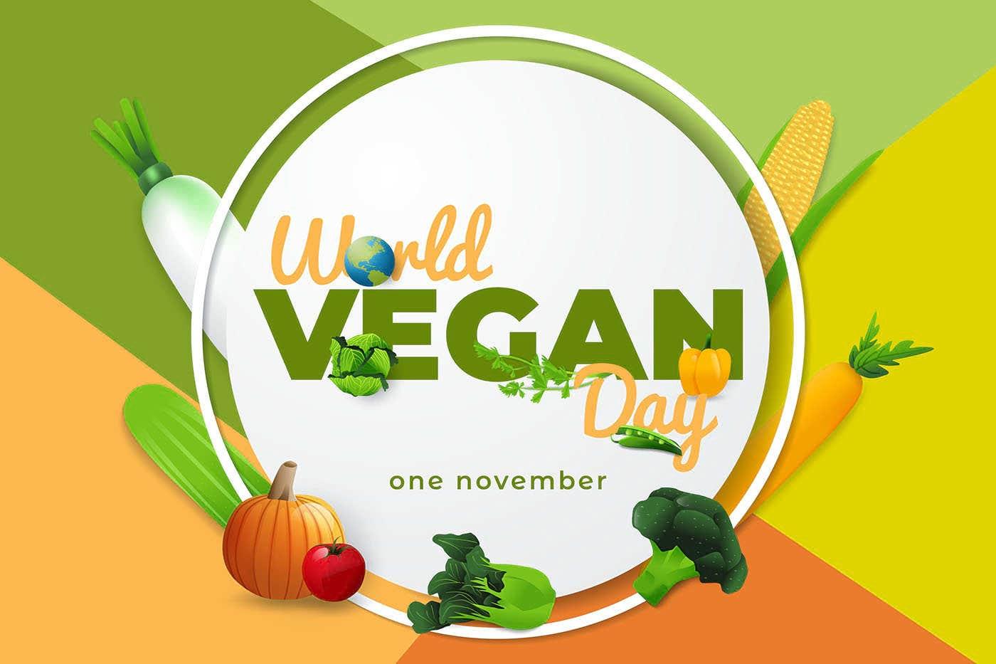 1 noiembrie - Ziua Mondială a Veganilor
