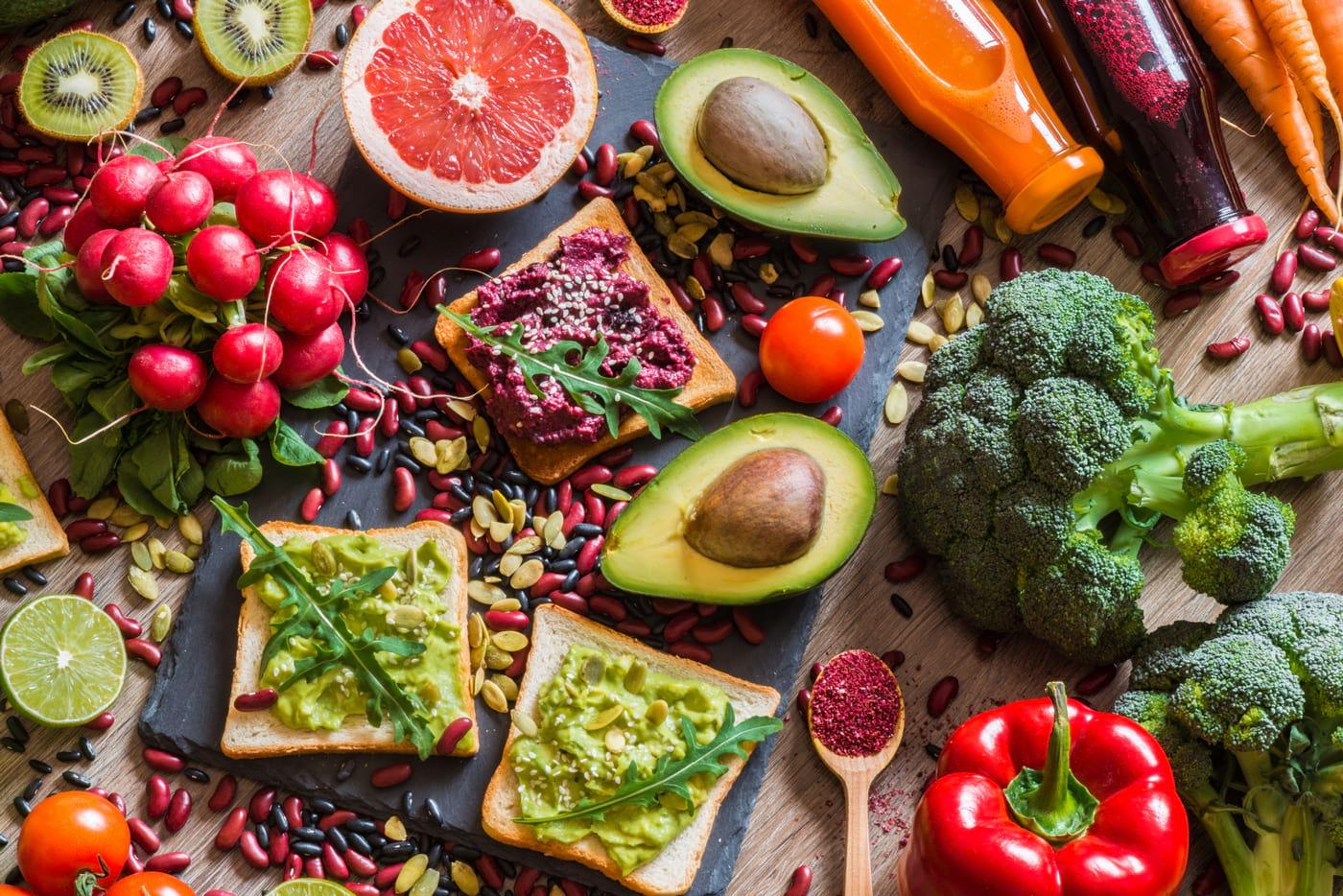 Dieta vegană: cum arată meniul pentru toată săptămâna