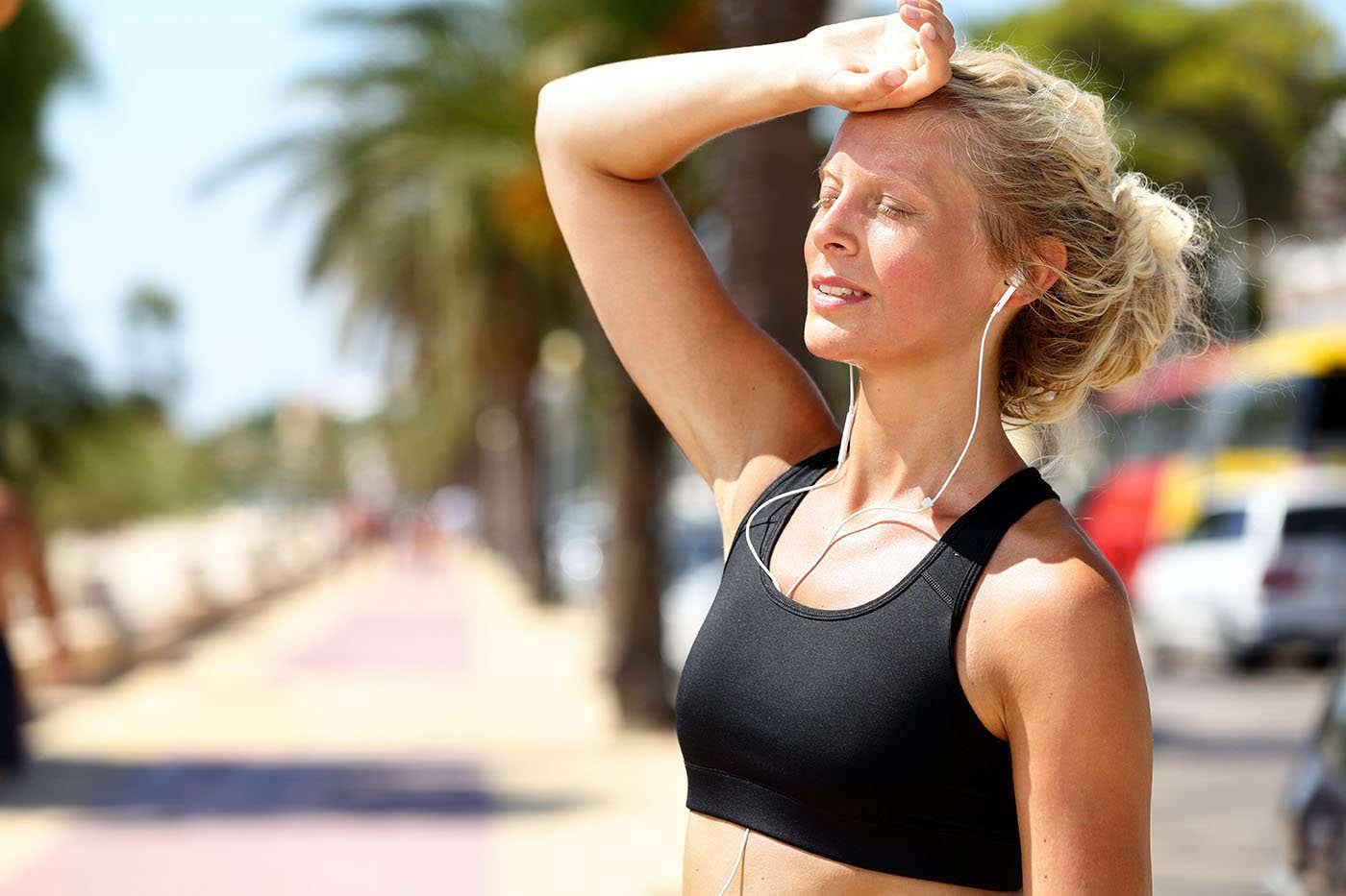Arderea caloriilor este mai mare când faci sport vara?
