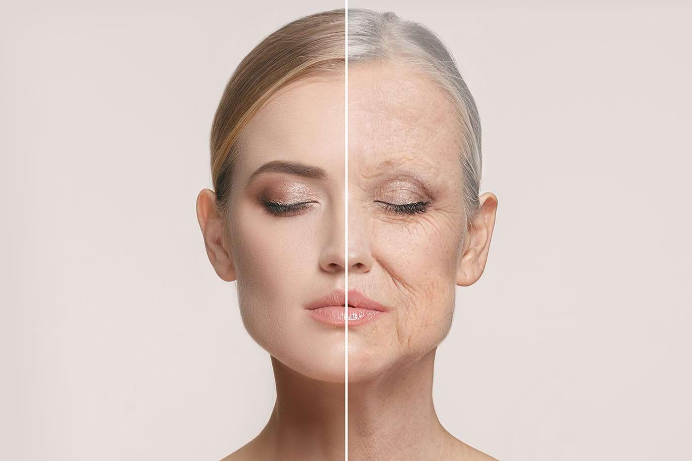 De ce ne îmbătrânește pielea?