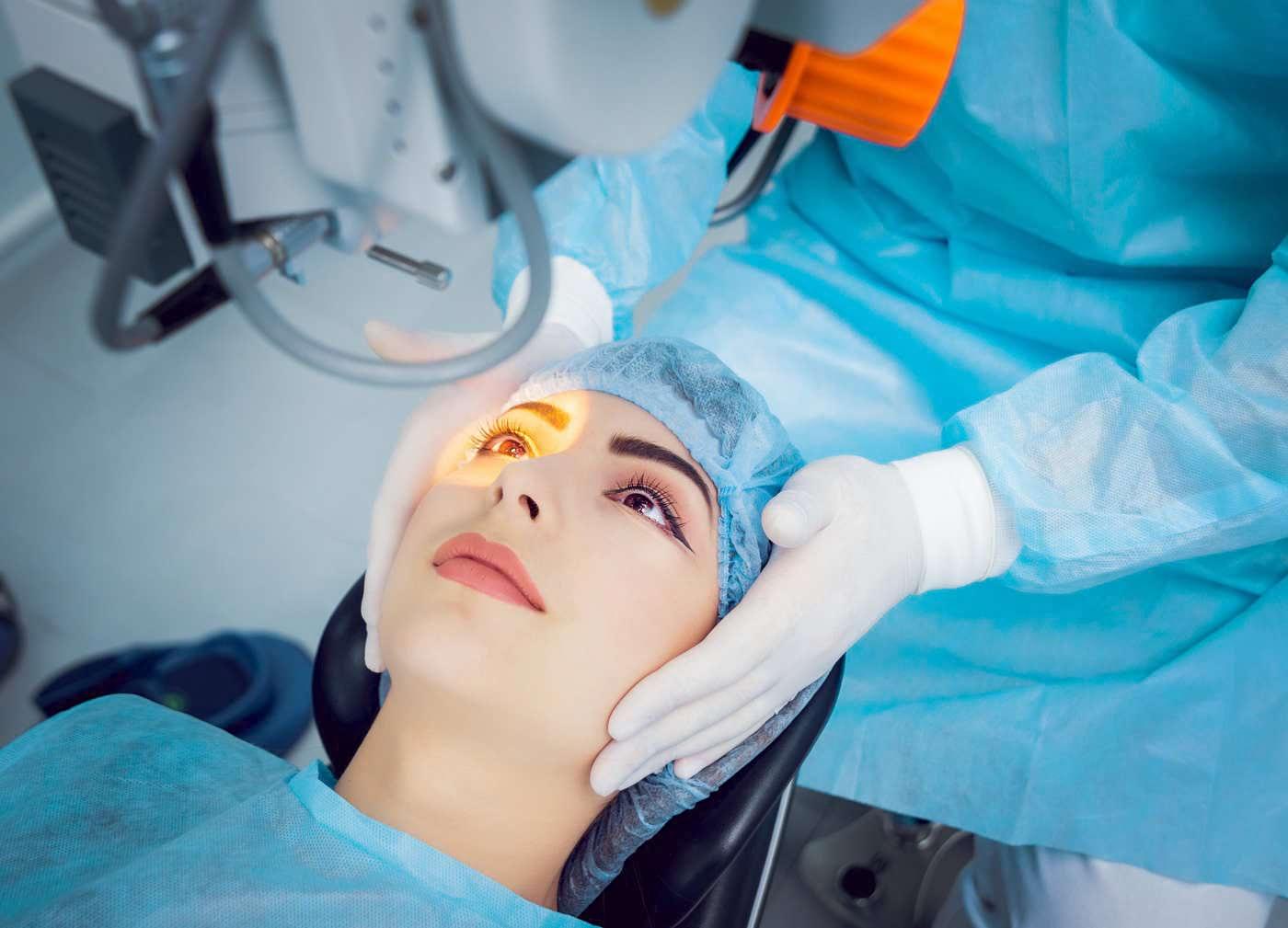 operați asupra vederii exercițiu de vedere pentru relaxare