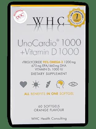 Imagine UnoCardio 1000 + Vitamin D 1000