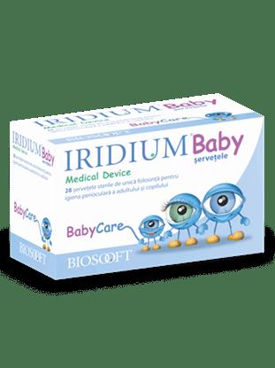 Imagine Șervețele sterile Iridium Baby, antiinflamatorii și antimicrob