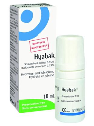 Imagine Hyabak 0,15% Lacrimi artificiale