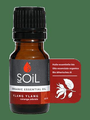 Imagine  SOiL Ulei Esențial Ylang Ylang 100% Certificat Organic