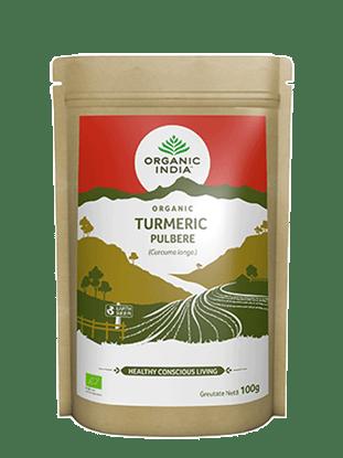Imagine Turmeric Pulbere 100% Certificată Organic Fără Gluten 100g
