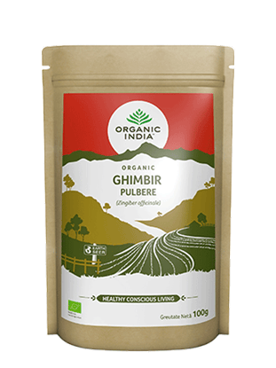 Imagine Pulbere de Ghimbir Organic, 100g