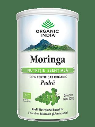 Imagine Moringa Nutriție Esențială 100% Certificată Organic