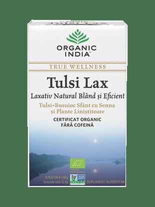 Imagine  Ceai Tulsi Lax Laxativ Blând și Eficient cu Senna 100% Certificat Organic