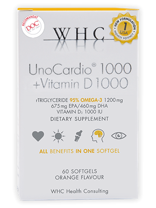 Imagine UnoCardio 1000 + Vitamin D 1000