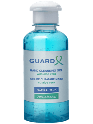 Imagine GUARD X Duo Travel Pack Gel de curățare maini