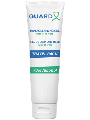 Picture of GUARD X Uno Travel Pack, Gel de curățare maini