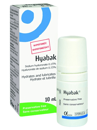 Picture of Hyabak 0,15% Lacrimi artificiale