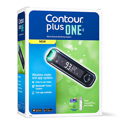 Imagine Glucometru Contour Plus One