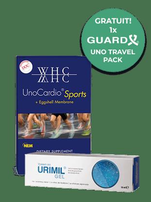 Imagine Pachet UnoCardio Sports + Urimil gel