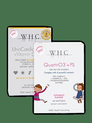 Imagine Pachet WHC-QUATTR03+PS + WHC-UNO CARDIO 1000 + VIT D
