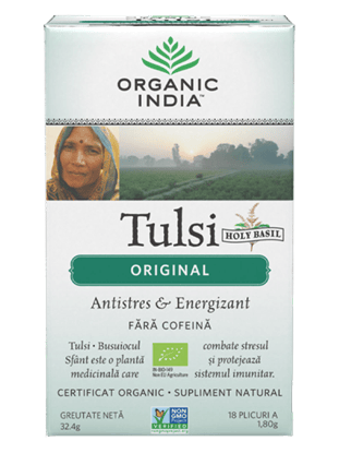 Imagine ORGANIC INDIA | Ceai Tulsi Original