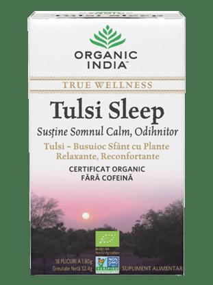 Imagine ORGANIC INDIA Ceai Tulsi Sleep | Pentru Somn Calm, Odihnitor